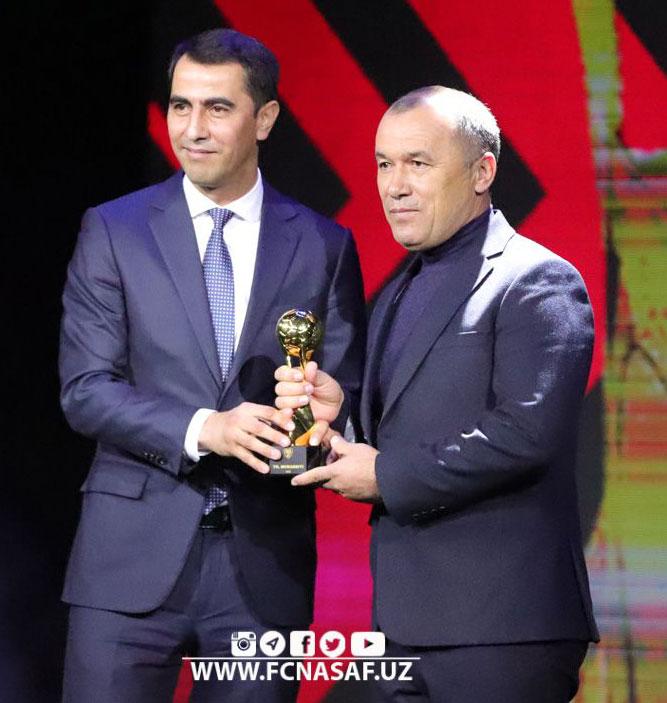 Рузыкул Бердыев в четвертый раз признан лучшим тренером Узбекистана