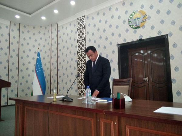 Хоким Касбинского района попросил прощения у населения за низкие показатели и пообещал исправить положение