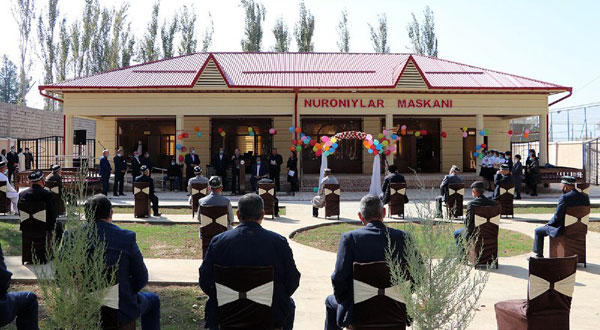 В Камаши открылся комплекс «Нуронийлар маскани»