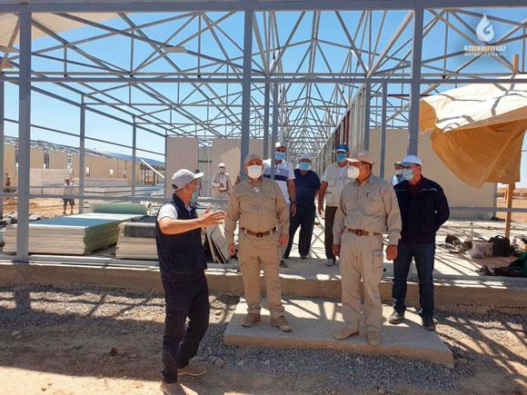 На ШГХК строятся общежития для сотрудников, работающих вахтовым методом