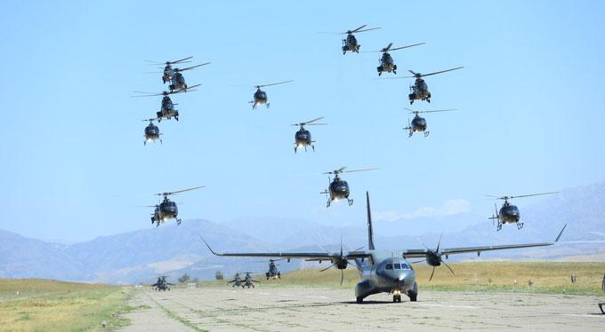 В честь Дня воздушного флота