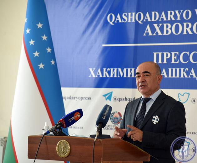 Зойир Мирзаев: «Ситуация в регионе серьезная, поэтому мы не должны ее скрывать»