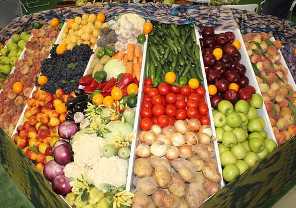Производство картофеля и винограда возросло, а овощей, фруктов и бахчевых собрано меньше