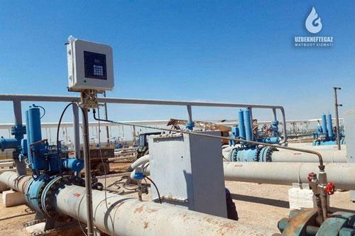 На месторождении Шуртан добыча газа и конденсата осуществляется из 160 скважин