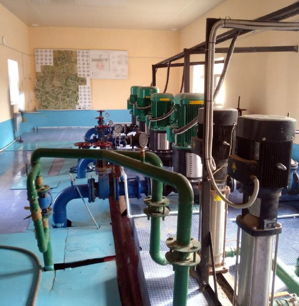Реконструкция систем позволила улучшить водоснабжение 12 тысяч человек