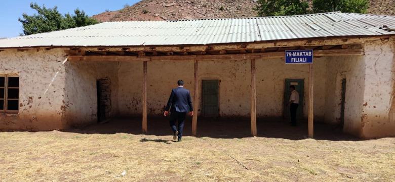Новая жизнь глинобитной школы