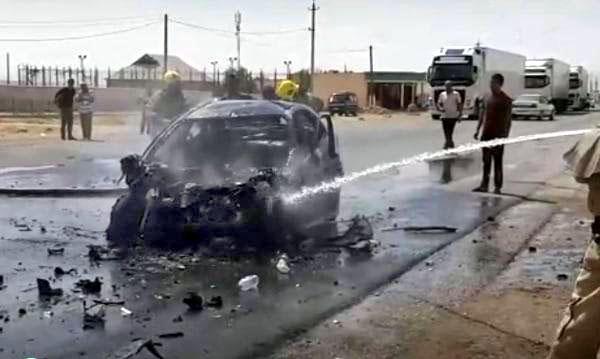 Пассажиры и водитель сгорели заживо