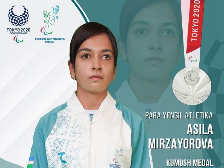Спортсменка из Кашкадарьи – серебряный призер Паралимпиады