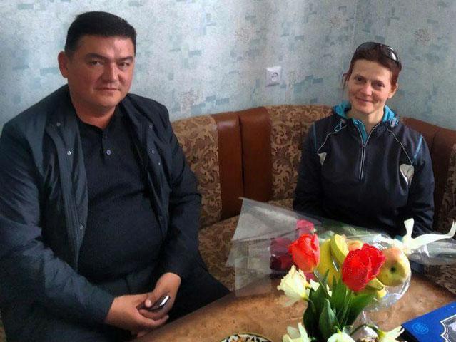 Российская учительница впервые попробовала сумаляк