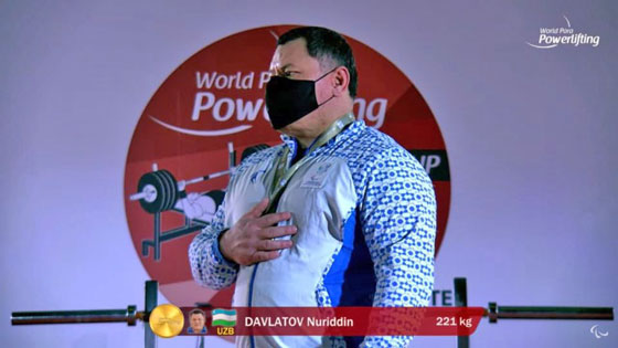 Пара пауэрлифтинг: чироқчилик Нуриддин Давлатов жаҳон кубоги ғолиби!