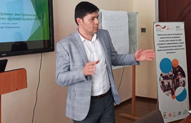 DVVнинг Ўзбекистондаги филиали кўмагида